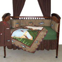 Gone Fishing Crib Set