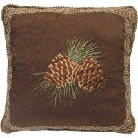 Pine Cone Pair Pillow