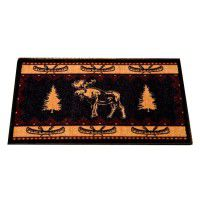 Moose Fever Kitchen and Bath Rug -DISCONTINUED