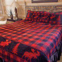 Moose Creek Fleece Bed Sets
