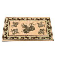 Pine cone Valley Kitchen and Bath Rug-DISCONTINUED
