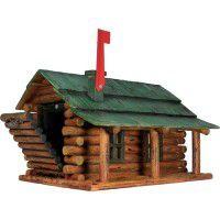 Log Cabin Mailbox