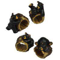 Playful Cubs Napkin Ring Set