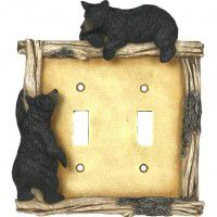 Black Bear Switch Plates