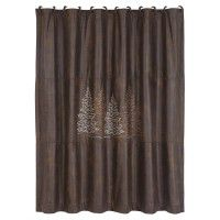 Faux Leather Clearwater Shower Curtain