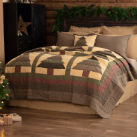 Sequoia King Quilt Set