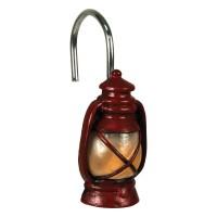 Camping Trip Lantern Shower Curtain Hooks