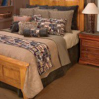 Cabin Collage Bedding