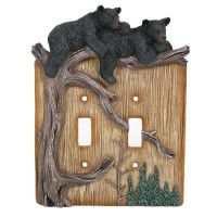 Bear Cubs Switch Plates