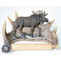 Walking Moose Toilet Tissue Holder -DISCONTINUED