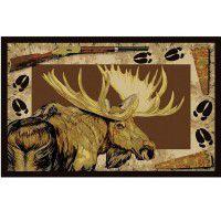 Moose Call Area Rug