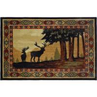 Southwest Deer Rug 30 x 46