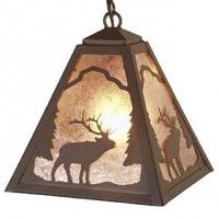 Timber Ridge Elk Pendant