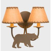 Bear Double Wall Lamp