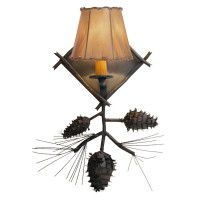 Ponderosa Pinecone Single Sconce