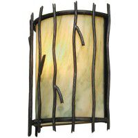 Sticks Timber Ridge Sconce