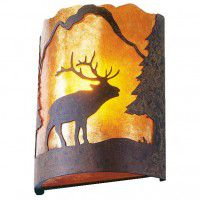 Timber Ridge Elk Sconce