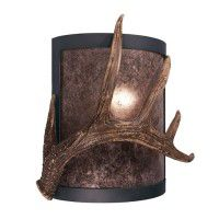 Timber Ridge Antler Single Sconce