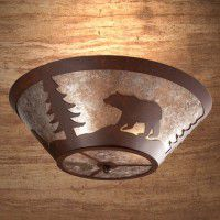 Bear Round Ceiling Light