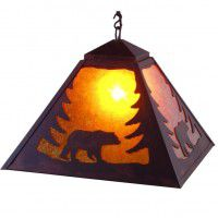 Bear Swag Pendant Light