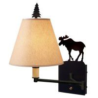 Moose Swing Arm Wall Lamp