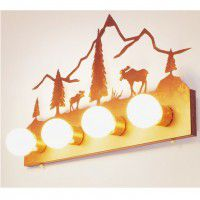 Moose Mountain Vanity Light