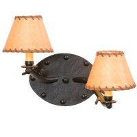 Timber Sconce - Rivets