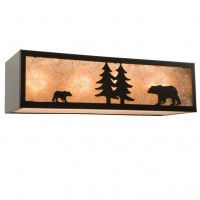 Nature Bear Vanity Light