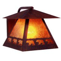 Band of Bears Outdoor Sconce