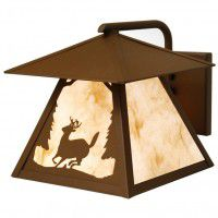 Timber Ridge Outdoor Deer Sconce