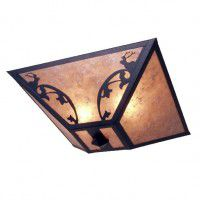 Bavarian Elk Ceiling Light