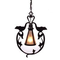 Bavarian Bear Pendant Light