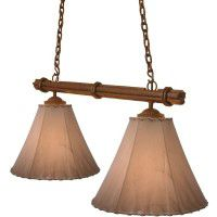 Sticks Double Pendant Light