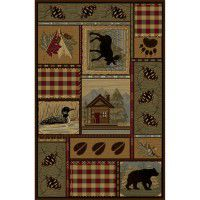 Bear Cabin Area Rugs