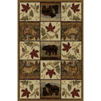Maple Bear Area Rugs