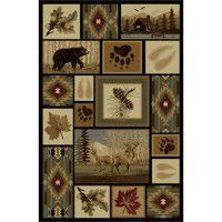 Wilderness Bear Area Rugs