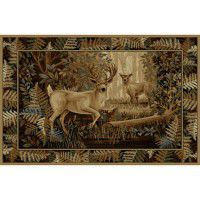 North Ridge Deer Area Rugs