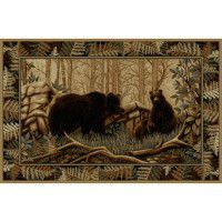 Bear Trio Area Rugs