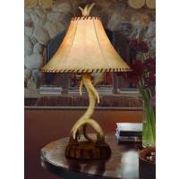 Lodge Antler Table Lamp