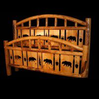 Cutout Deluxe Bed -Arch