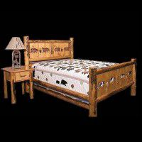 Cutout Deluxe Log Bed