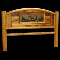 Highland Wildlife Arched Barn Wood Beds