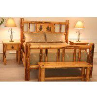 Rocky Mountain Log Bed