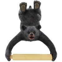Upside Down Bear Cub Toilet Paper Holder