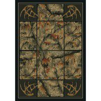 Antlers Camo Area Rugs