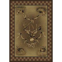 Whitetail Ridge Deer Rug Collection