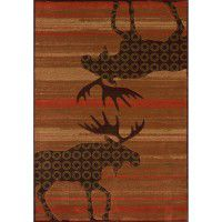 Terracotta Urban Moose Area Rugs