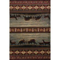 Native Landscape Area Rugs