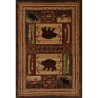 Bear Wilderness Area Rugs