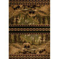 Scenic Bear Area Rugs